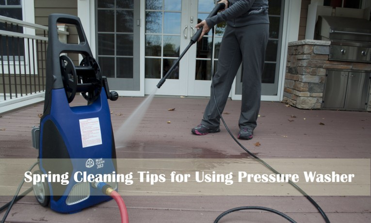 Tips On Using A Pressure Washer