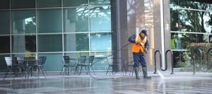pressure washer in cold weather