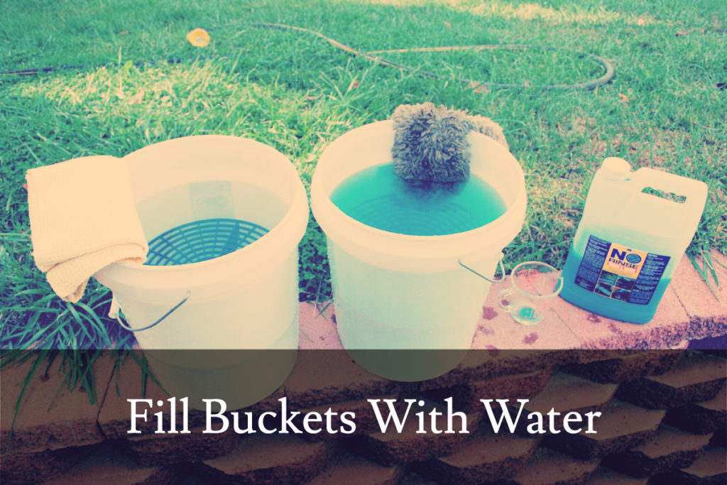 Fill Buckets With Water